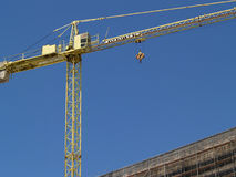 Building Constriction. Architecture & Buildings. Constriction with crane Stock Photos