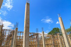 Building construct site Stock Photos