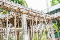 Building construct site Stock Images