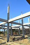 Building construct site and blue sky. Of thailand Royalty Free Stock Images