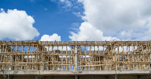 Building construct site and nice sky Royalty Free Stock Photography
