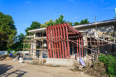 Building construct site Stock Photography