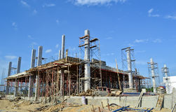 Building construct site of thailand. Southeast Stock Image