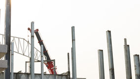 Building construct site. At thailand Royalty Free Stock Photography