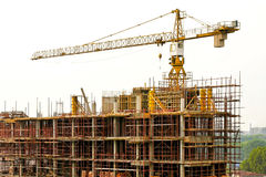 Building construction Royalty Free Stock Photos