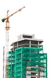 Building construction. In the city Royalty Free Stock Photo