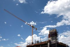 Building Construction Royalty Free Stock Photography