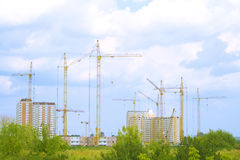 Building construction 2 Royalty Free Stock Photo