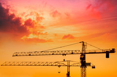 The building construction Stock Photography