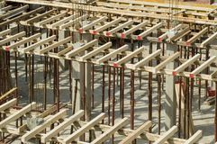 Building on construction Royalty Free Stock Image