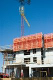 Building Construction. Construction of Highrise Building Stock Photo