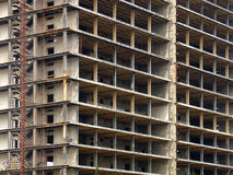 Building construction. Building renovation in process Royalty Free Stock Photography