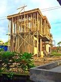 Building construction along Jalan Bisma, Ubud Stock Photos