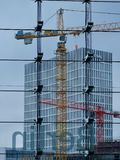 Building construction in Berlin Royalty Free Stock Image