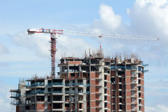 Building Construction. In Bangalore, India Stock Photo