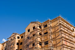 Building Construction (corner) Royalty Free Stock Images
