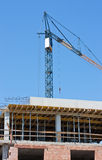 Building construction and crane Royalty Free Stock Photo