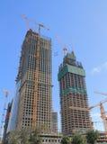 Building construction development Beijing China. Building construction development site in Beijing China Stock Image