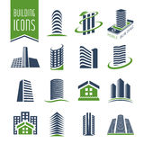 Building and construction icon set Royalty Free Stock Photography