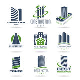 Building and construction icon set - 2 Royalty Free Stock Photography