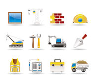 Building and construction icons 1 Stock Photos