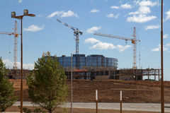 Building construction in Innopolis city, Kazan, Russia Stock Images