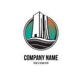 Building construction logo Stock Image