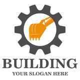 Building construction logo Royalty Free Stock Photography