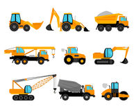 Building construction machinery equipment Royalty Free Stock Photography