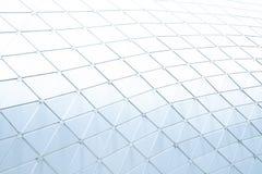 Building construction of metal steel framework outdoors stock image