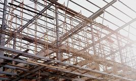 Building. In Construction For Office Mall Stock Images