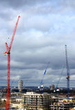 Building construction in Poplar, London. Stock Photography