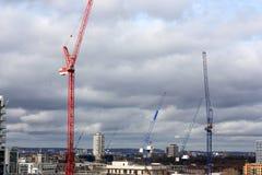 Building construction in Poplar, London. Stock Image