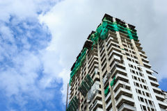 Building and construction site Royalty Free Stock Photo