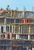 Building construction site detail Stock Image