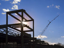 Building construction site Stock Photos
