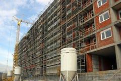 Building construction site Stock Photo