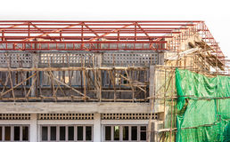 Building & Construction Site in progress. Stock Photos