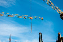 Building construction site at sunny day Royalty Free Stock Photography