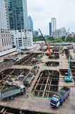 Building construction Site at Thailand Royalty Free Stock Images