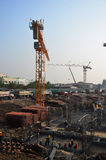 Building construction Site at Thailand Stock Photos