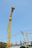 Building construction Site at Thailand Stock Images