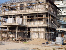 Building construction site Stock Photos