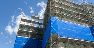 Building construction site Royalty Free Stock Image