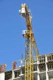 Building construction site work Stock Photo