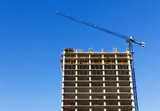 Building construction structure Stock Image