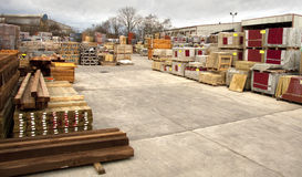 Building and construction supplies Stock Images