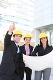 Building Construction Team royalty free stock images
