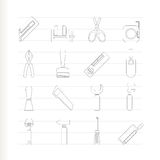 Building and Construction Tools icons - Vector Ico Royalty Free Stock Image