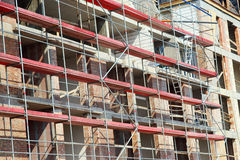 Building construction, work site Royalty Free Stock Images